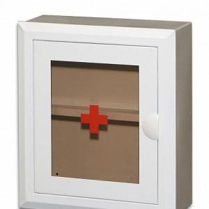 Аптечка со стеклянной дверцей и замком № 2