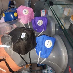 Респиратор  KN95 с клапаном (цветной)