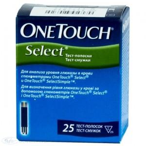 Тест-полоски One Touch Select