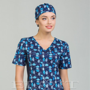 Блуза медицинская (стрейч)