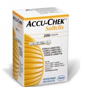Ланцеты Акку-Чек Софткликс  № 200